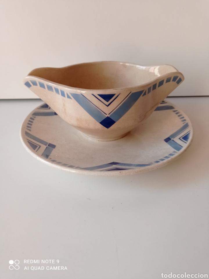 SALSERO ART DECO (Antigüedades - Porcelanas y Cerámicas - Otras)