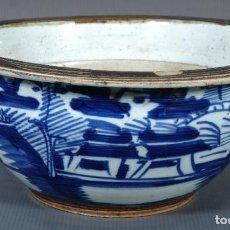 Antigüedades: CUENCO CHINO EN GRES CHINO. Lote 235284165