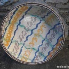 Antigüedades: ZAFA ,CUENCO EN CERÁMICA PUENTE ARZOBISPO S XIX. Lote 235306985