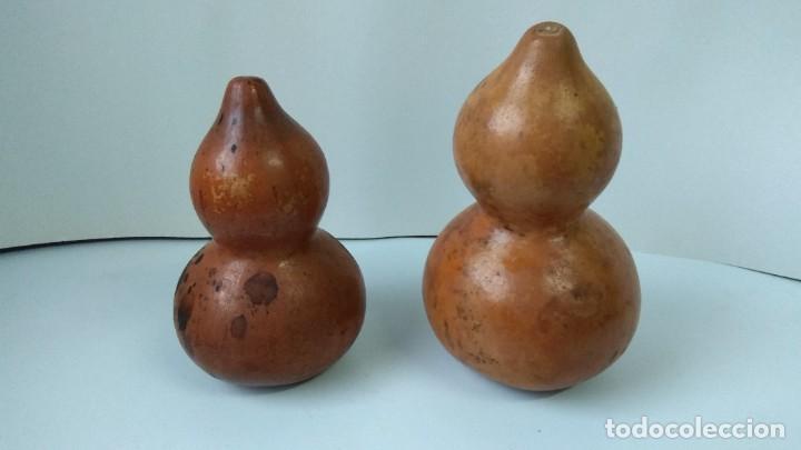 Antigüedades: CALABAZAS ANTIGUAS DECORACION - Foto 3 - 235309800