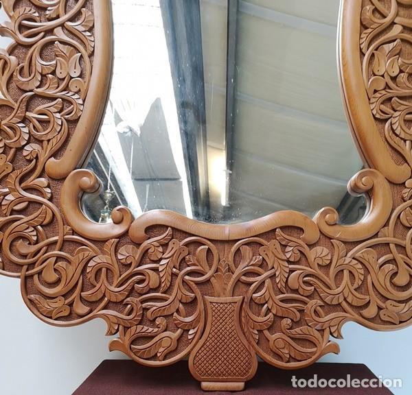 Antigüedades: Espejo Balinés - Foto 2 - 235320670