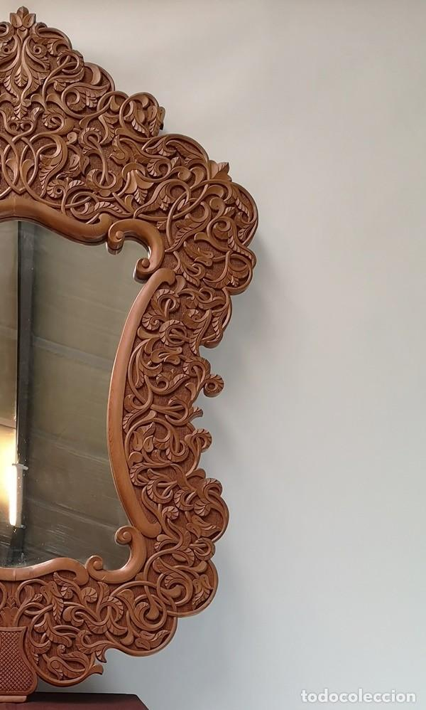 Antigüedades: Espejo Balinés - Foto 4 - 235320670