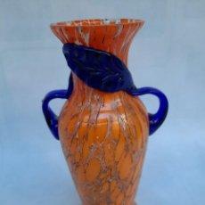 Antigüedades: JARRON CON ASAS-MURANO-. Lote 235336930