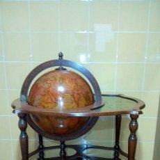 Antigüedades: MUEBLE BAR-BOLA DEL MUNDO. Lote 235368250