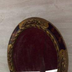 Antigüedades: ESPECTACULAR ESPEJO OVALADO. Lote 235389070