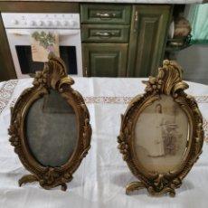 Antigüedades: DOS MARCOS DE FOTOS MODERNISTAS. Lote 235418050