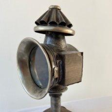 Antigüedades: FAROL CARRUAJE LAMPARA. Lote 235418615