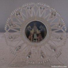 Antigüedades: IMAGEN DE LA VIRGEN EN PLÁSTICO. Lote 235423250