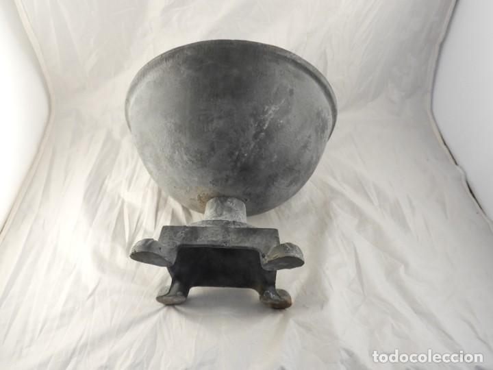 Antigüedades: ELEGANTE MACETERO JARDINERA DE HIERRO PARA PLANTAS O FLORES - Foto 7 - 267777109