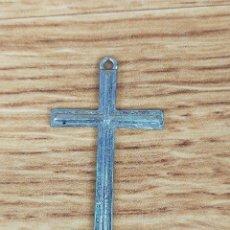 Antigüedades: CRUZ RELIGIOSA EN PLATA?. Lote 235443425