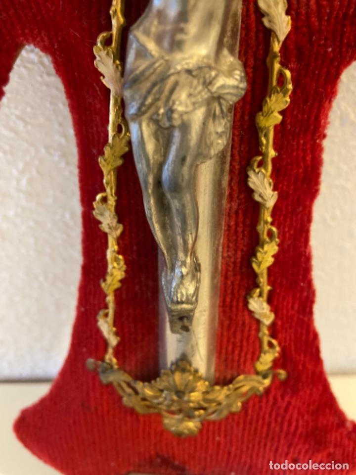 Antigüedades: Crucifijo - Foto 9 - 235449645