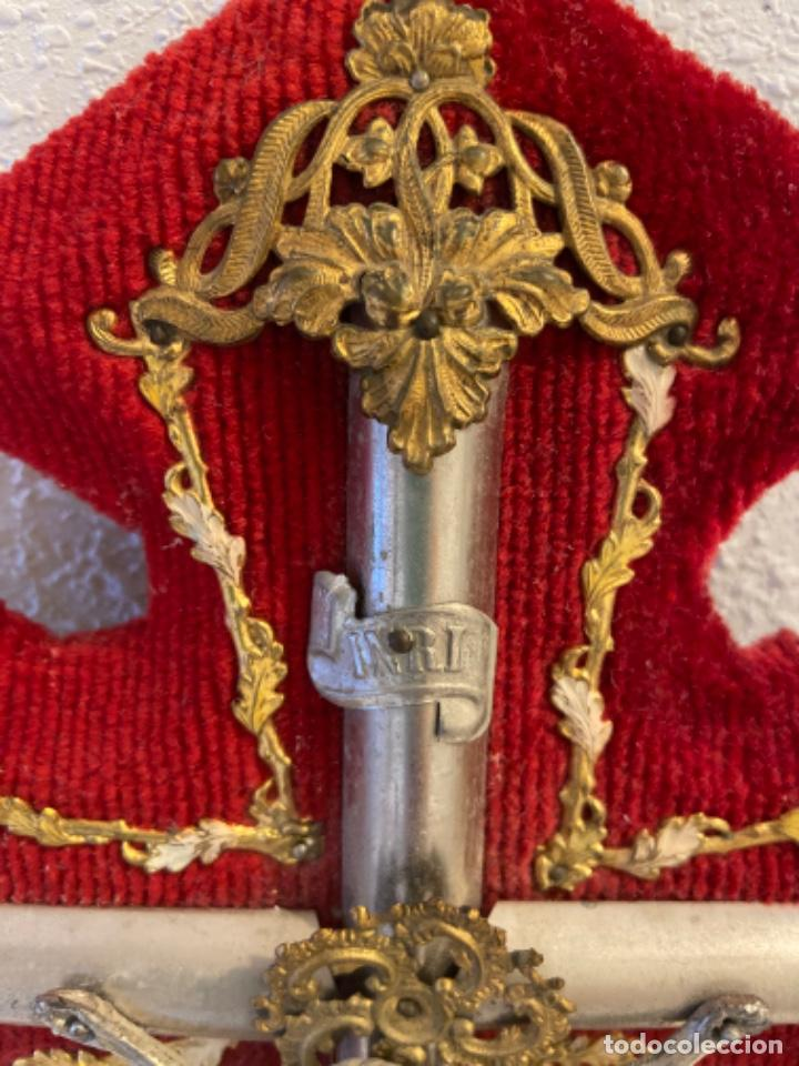 Antigüedades: Crucifijo - Foto 10 - 235449645