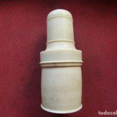 Antigüedades: ANTIGUA PIEZA EN MARFIL ARTE TRIBAL AFRICANA. Lote 235469350