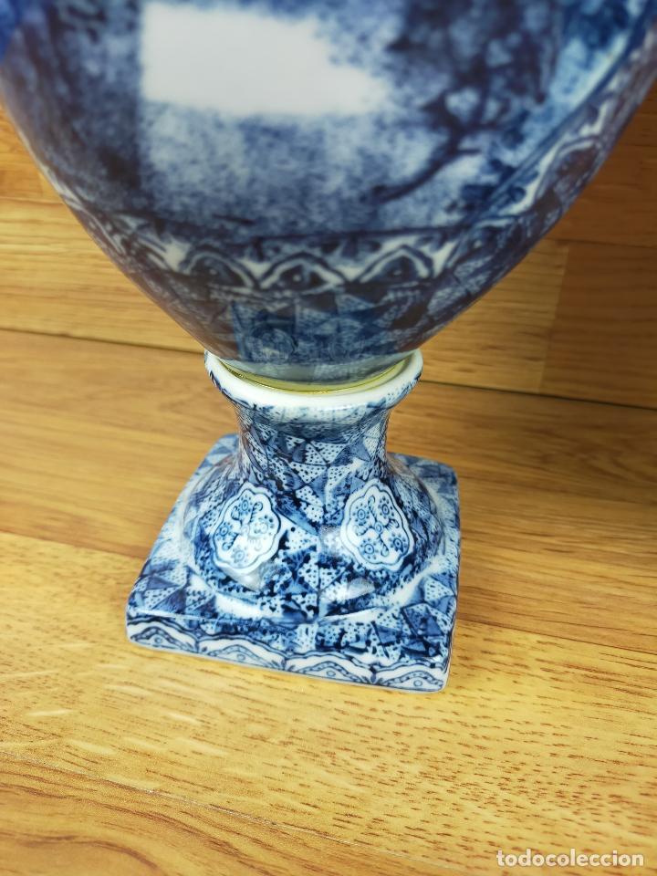 Antigüedades: Antiguos jarrones 32 cm de alto - Foto 6 - 235492675