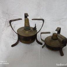 Antigüedades: ANTIGUAS LAMPARAS DE QUEROSENO!. Lote 235497160