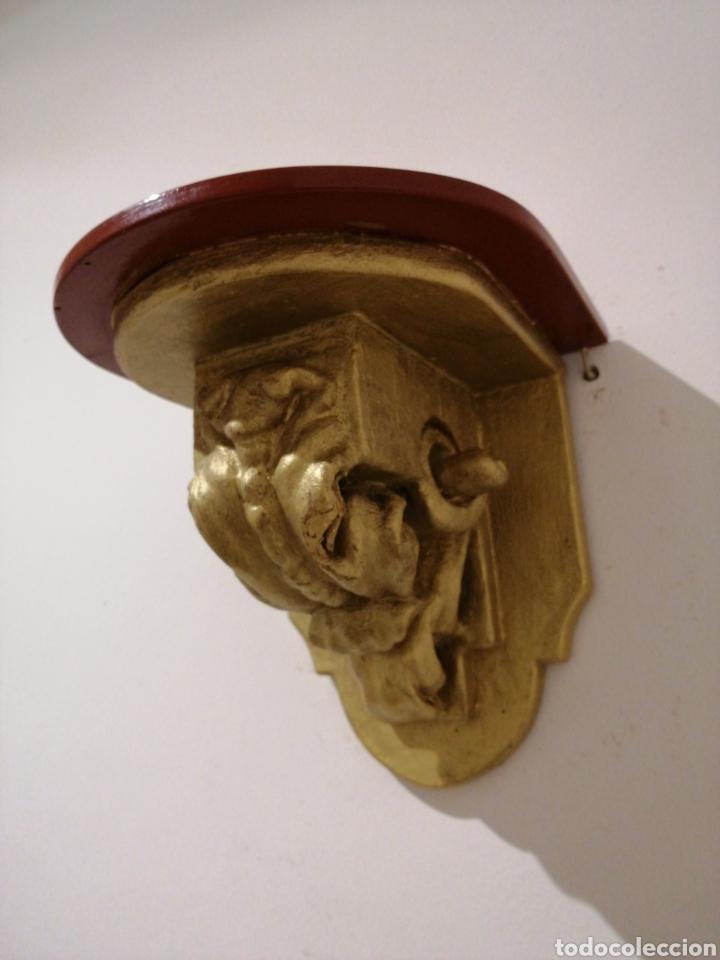 Antigüedades: Ménsula de madera - Foto 2 - 235519350