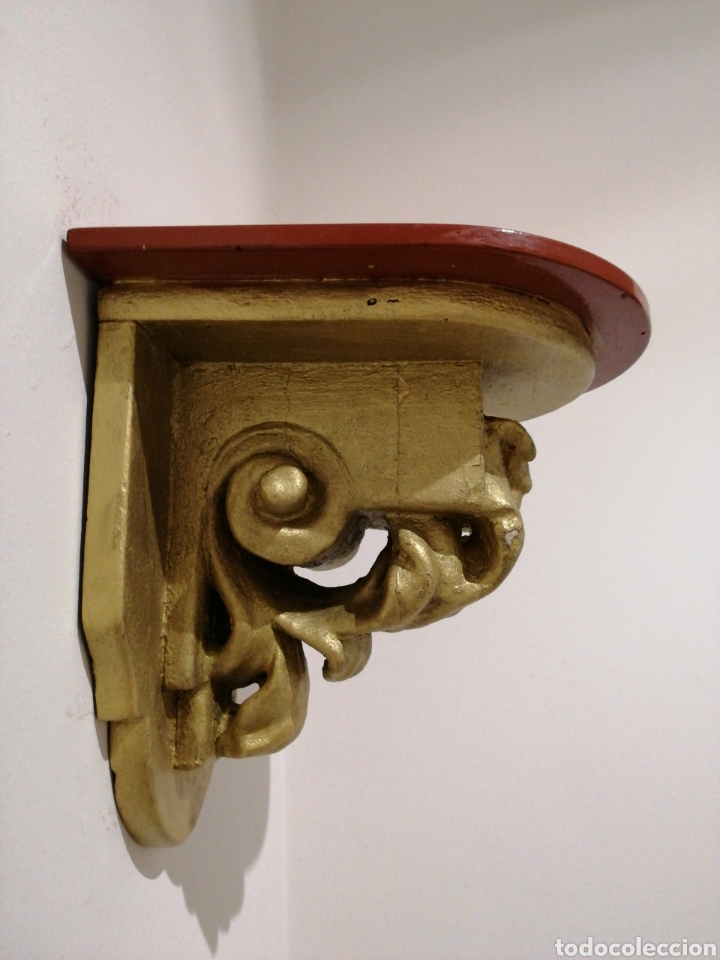 MÉNSULA DE MADERA (Antigüedades - Muebles Antiguos - Ménsulas Antiguas)