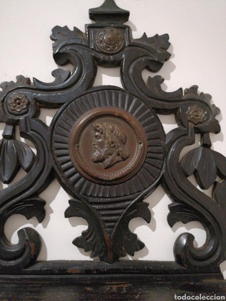Antigüedades: Ménsula plegable de madera - Foto 3 - 235521300