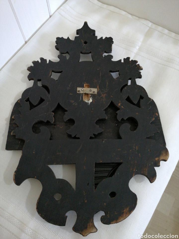 Antigüedades: Ménsula plegable de madera - Foto 4 - 235521300