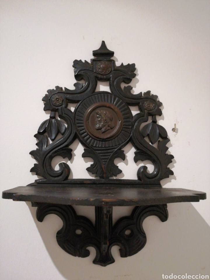 MÉNSULA PLEGABLE DE MADERA (Antigüedades - Muebles Antiguos - Ménsulas Antiguas)