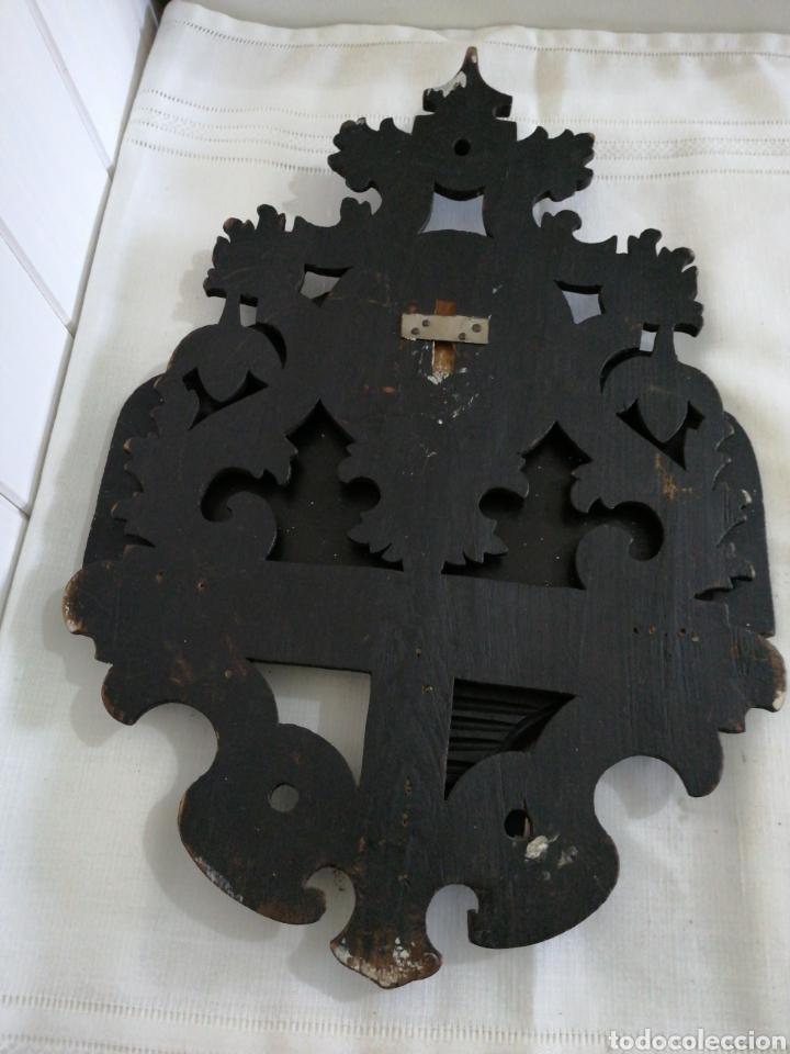 Antigüedades: Ménsula plegable de madera - Foto 4 - 235522565