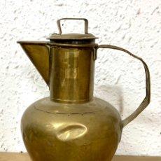 Antigüedades: JARRA DE LATÓN. Lote 235556825