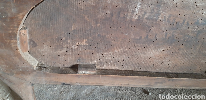 Antigüedades: Antiguo remate modernista en madera tallada - Foto 3 - 235574330