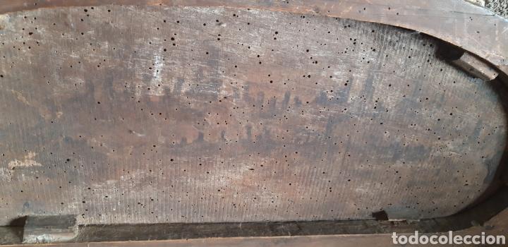 Antigüedades: Antiguo remate modernista en madera tallada - Foto 4 - 235574330