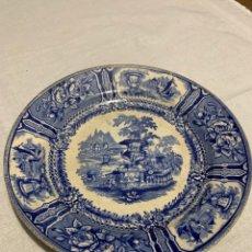 Antigüedades: FABULOSO PLATO DE CERÁMICA DE SARGADELOS. Lote 235576240