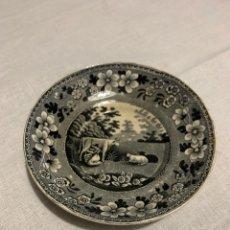 Antigüedades: PLATO DE CERÁMICA GALLEGA DE SARGADELOS. Lote 235578450