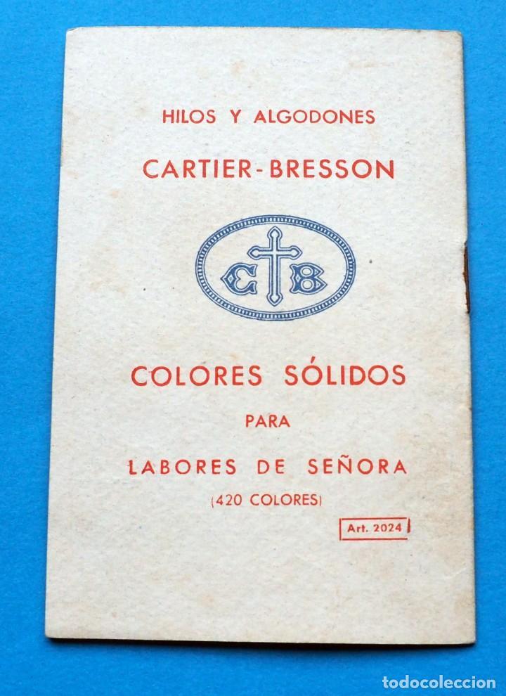 Antigüedades: LIBRITO PUNTO DE CRUZ. COLECCIÓN. PARIS CARTIER- BRESSON. Nº 5 - Foto 3 - 235580080
