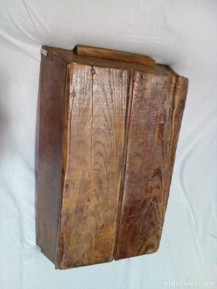 Antigüedades: antigua fanega para medir la cebada o el trigo - Foto 3 - 235612190