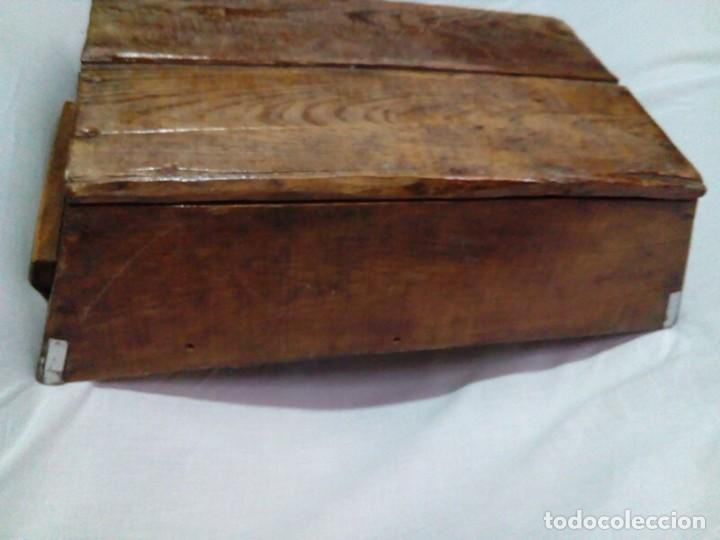 Antigüedades: antigua fanega para medir la cebada o el trigo - Foto 5 - 235612190