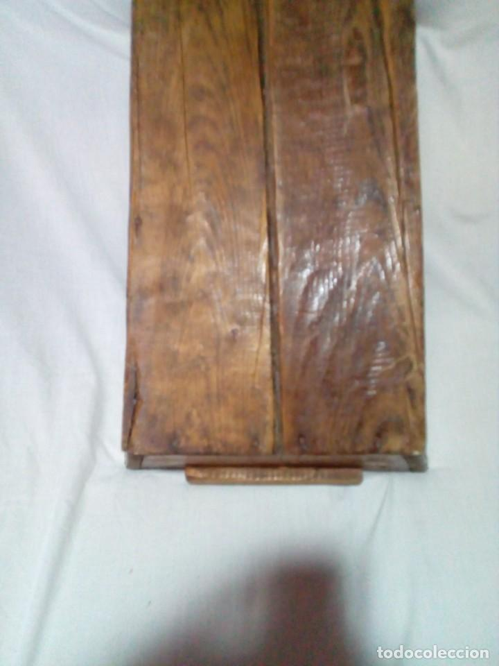 Antigüedades: antigua fanega para medir la cebada o el trigo - Foto 6 - 235612190