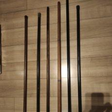 Antigüedades: CONJUNTO 6 BASTONES. Lote 235618195