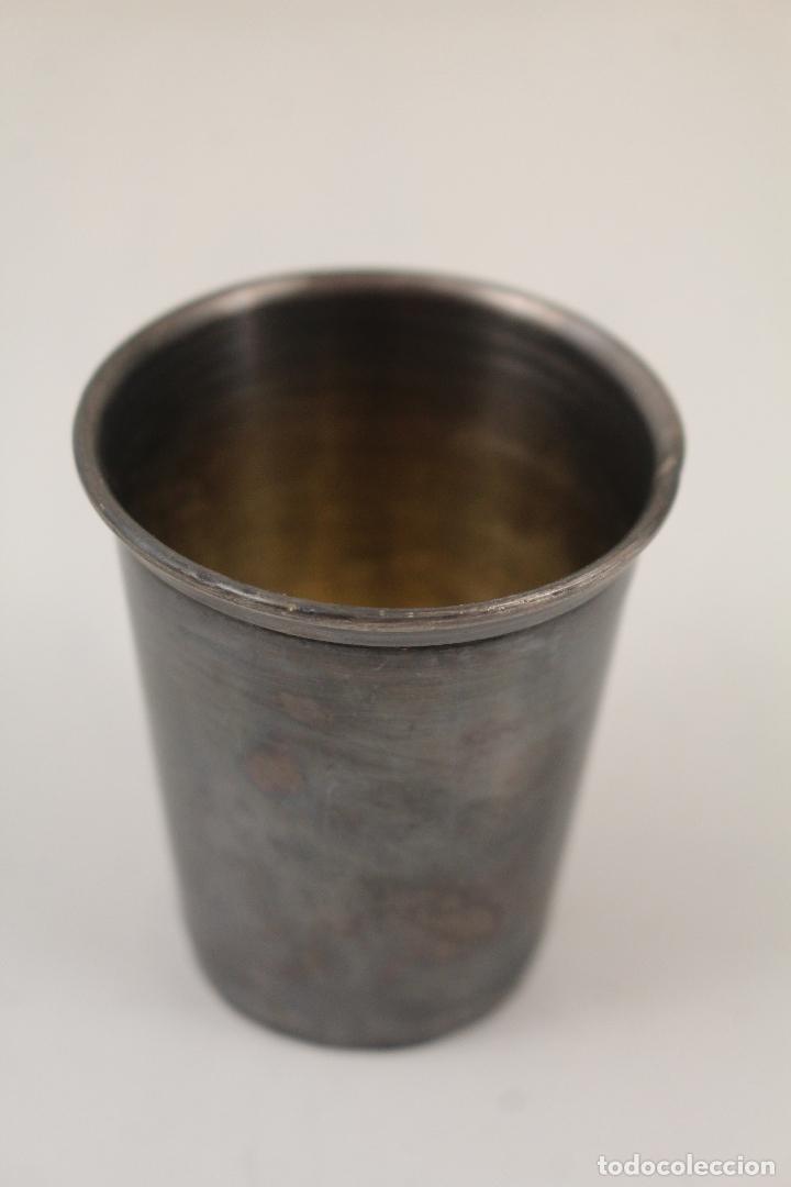 Antigüedades: vaso de plata de ley - Foto 4 - 268867014