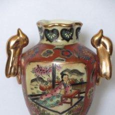 Antigüedades: SATSUMA CHINA FLORERO. Lote 235655315