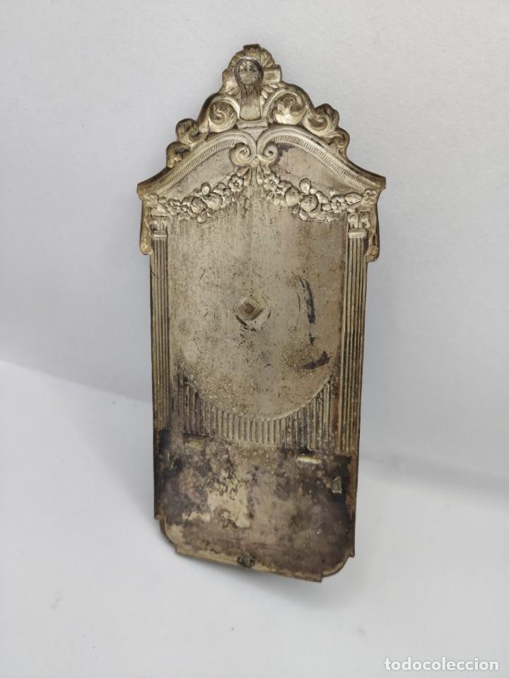 Antigüedades: BENDITERA RELIGIOSA METAL Y CRISTAL ( RELIGION CRUZ CRISTO VIRGEN) - Foto 4 - 235719790
