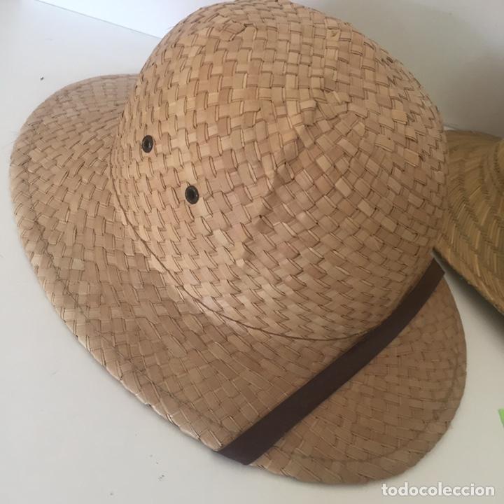 Antigüedades: Lote de sombreros de Paja - Foto 2 - 235833735