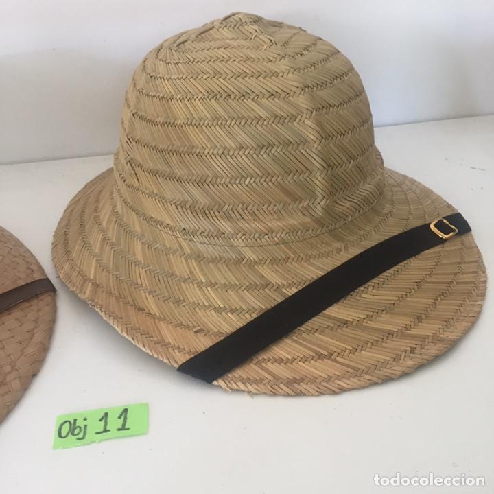 Antigüedades: Lote de sombreros de Paja - Foto 3 - 235833735