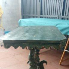 Antigüedades: MESITA-VELADOR. Lote 235917105