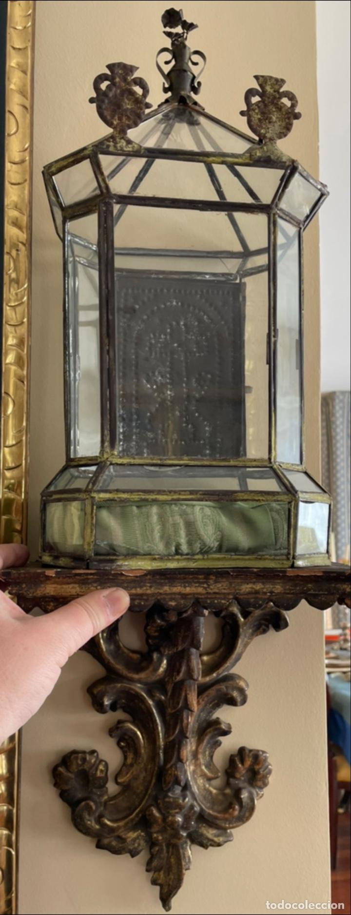 Antigüedades: Espectacular Urna sobre su mensula del siglo XVIII - Foto 2 - 235940945
