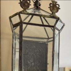 Antigüedades: ESPECTACULAR URNA SOBRE SU MENSULA DEL SIGLO XVIII. Lote 235940945