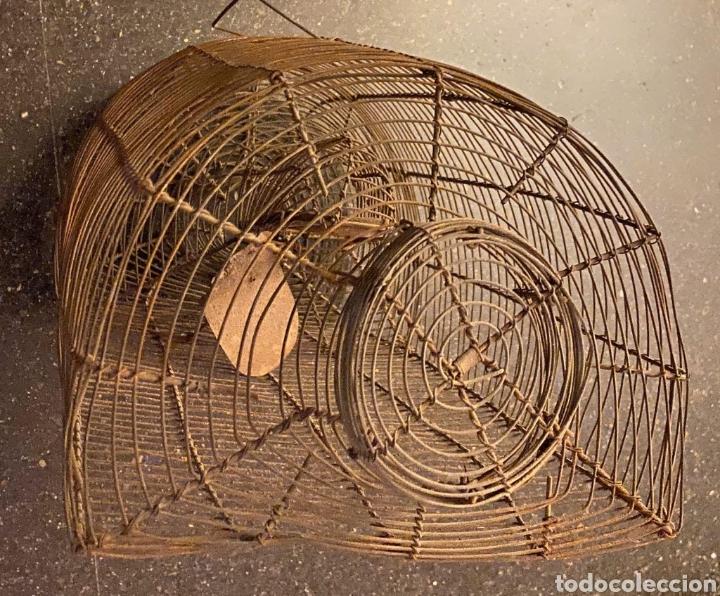 Antigüedades: ANTIQUÍSIMA RATONERA DE ALAMBRE DE GRANDES DIMENSIONES - Foto 5 - 235943705