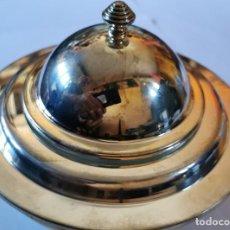 Antiguidades: ENFRIADOR DE CAVIAR.,BAÑO DE PLATA. Lote 235983605