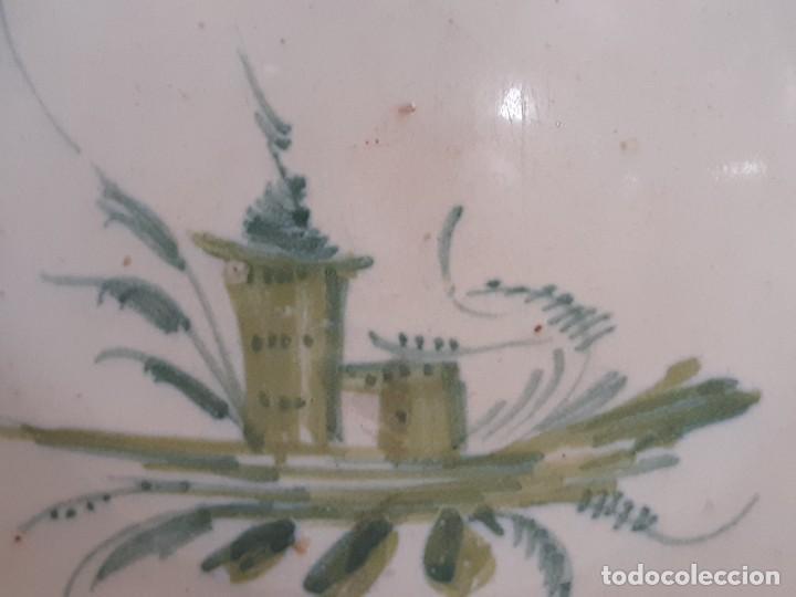 Antigüedades: Barbera. Bacía. Ribesalbes. Cerámica. Siglo XVII-XIX. - Foto 5 - 235987260
