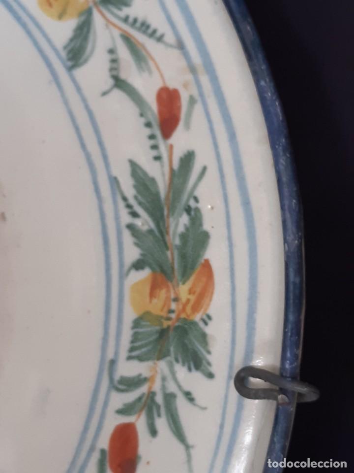 Antigüedades: Barbera. Bacía. Ribesalbes. Cerámica. Siglo XVII-XIX. - Foto 8 - 235987260