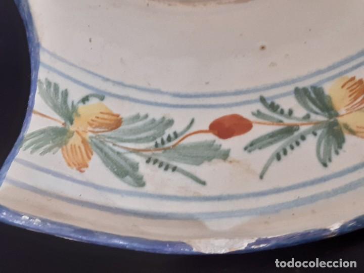 Antigüedades: Barbera. Bacía. Ribesalbes. Cerámica. Siglo XVII-XIX. - Foto 11 - 235987260