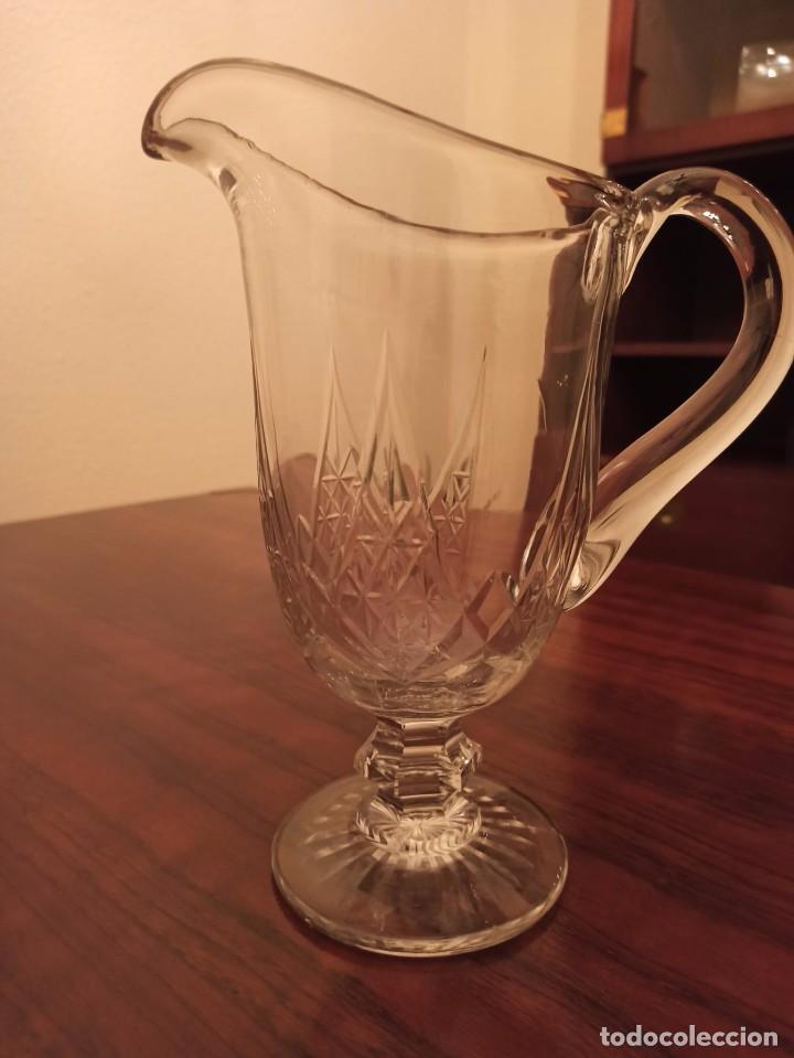 Antigüedades: JARRA DE CRISTAL DE BOHEMIA TALLADO - Foto 2 - 236019360