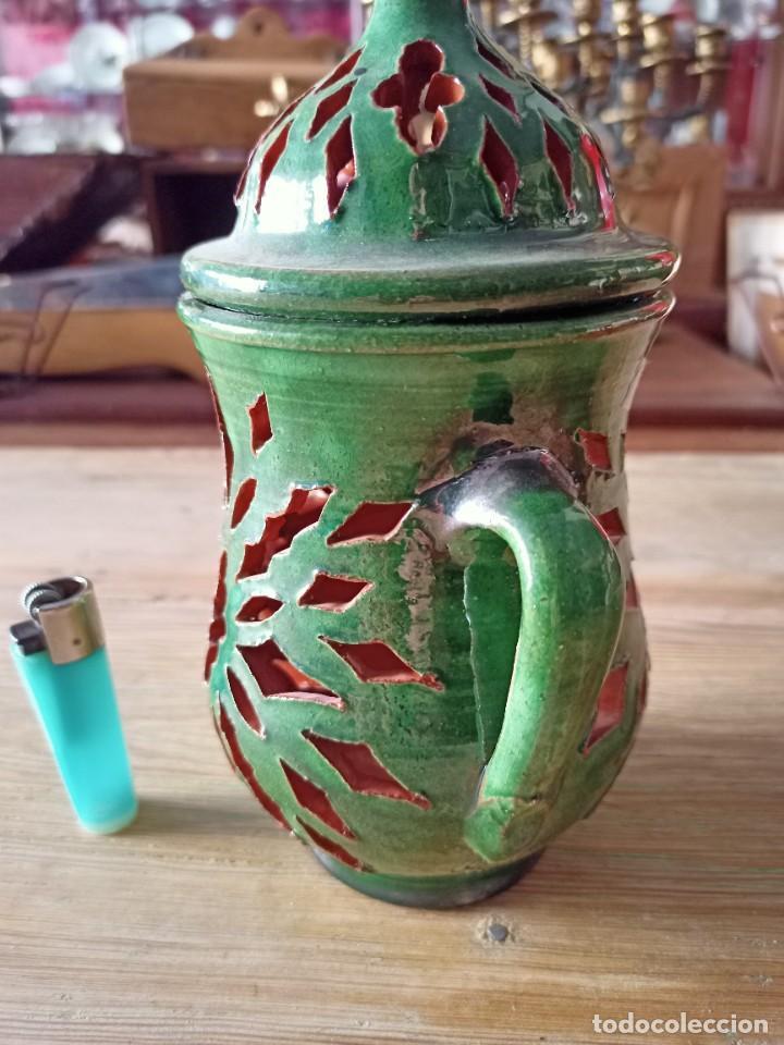 Antigüedades: Ajero de cerámica de Úbeda - Foto 2 - 236023365
